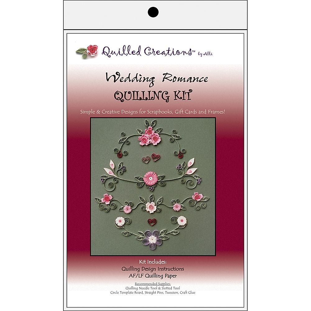 5 Colors Holiday Assortment 1//8-Inch Paper 105-Pack Lake City Craft Quilling