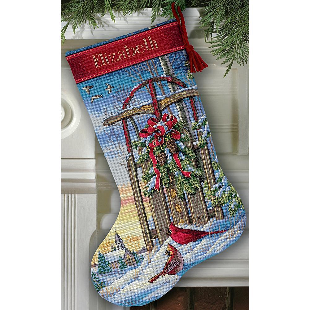 Counted cross stitch christmas stocking patterns nice